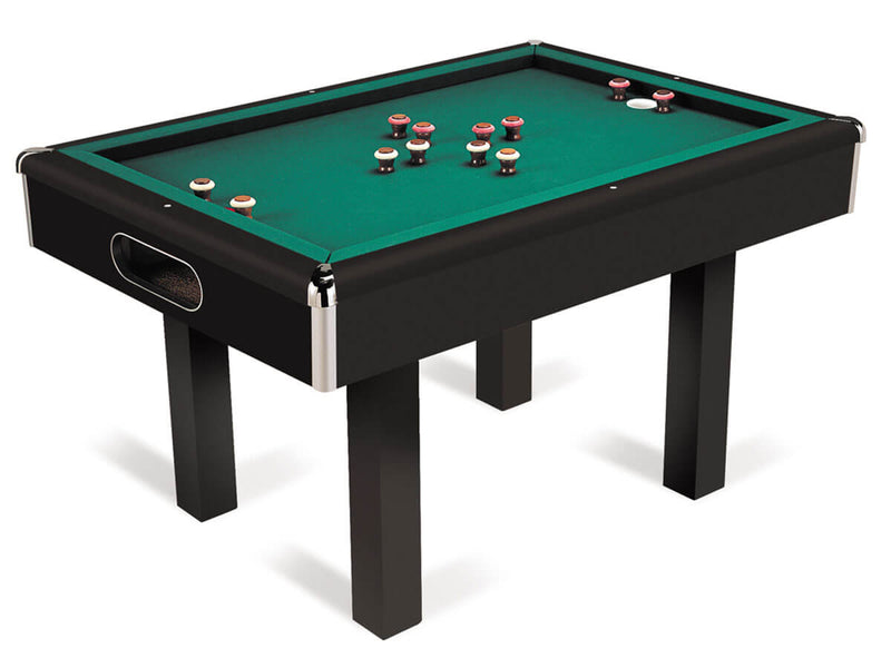 Black Non Slate Bumper Pool Table At Home Recreation Llc