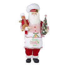 38.5 in. Kringle Candy Santa