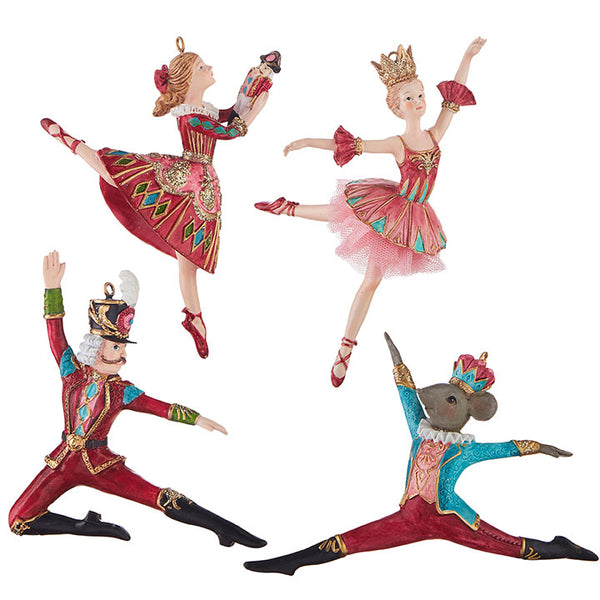 6 in. Nutcracker Ballet Ornament