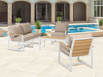 4pc Hampton Deep Seating Collection