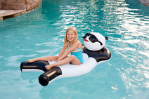 Inflatable Ride-On Panda Bear Float