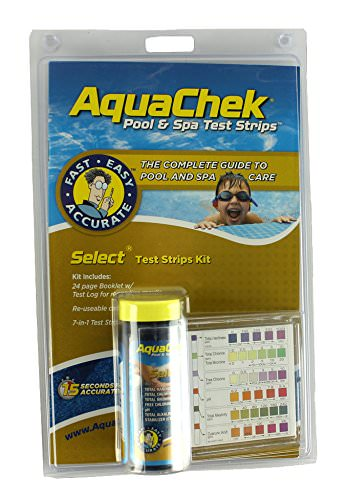 AquaChek Select 7 in 1 Complete Pool and Spa Testing Kit