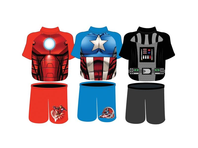 Deluxe Assorted Marvel Swim Shorty