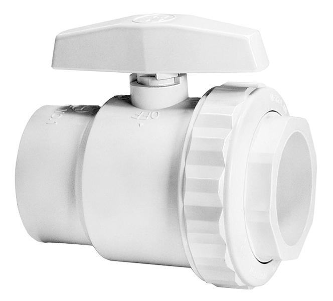 "Hayward SP0722S Trimline 2-Way 1.5"" Ball Valve"