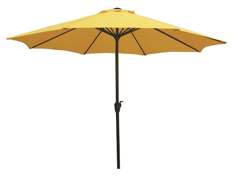 Yellow 9' Market Umbrella