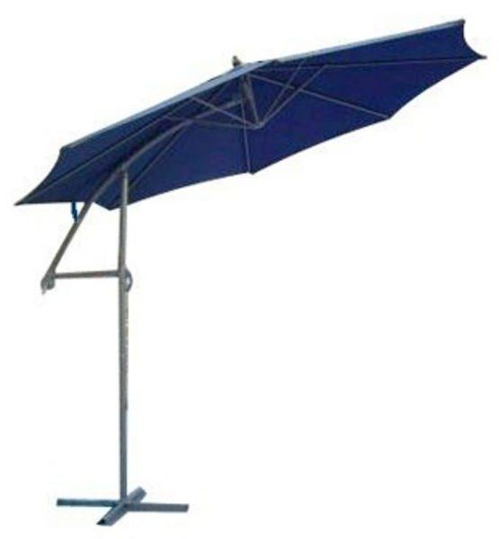 Navy 10' Offset Umbrella