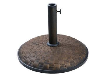 Bronze Weave 55lb Concrete Umbrella Base