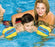 Boy Swimming With Skill School Swim Training Arm Band Floats