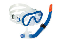 Divesite Reefseeker Youth Mask and Snorkel Set in Blue