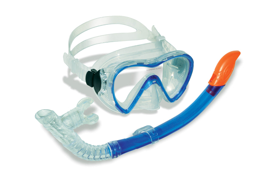 Divesite Sea Pro Adult Silicone Mask and Snorkel Set