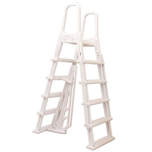 Dominica A-Frame Ladder with Barrier