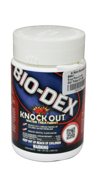 Bio-Dex Knock Out Water Treatment (1 Lb)