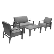 Berlino 4 Piece Chat Set