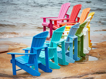 Classic Adirondack Chair in a rainbow of colors