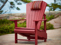 Original Adirondack Chair in Burgundy Lifestyle Shot