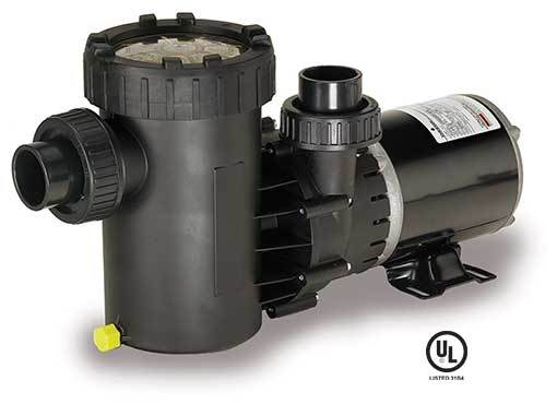 1.5 HP Dual Port Pump Motor With TL Cord