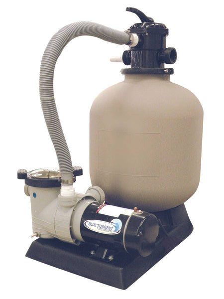 "16"" Sand Filter with 1 HP Pump and Motor"