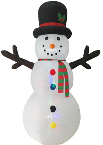 8 ft Inflatable Snow Man