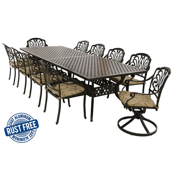 11 Piece Amalfi Rectangular Dining