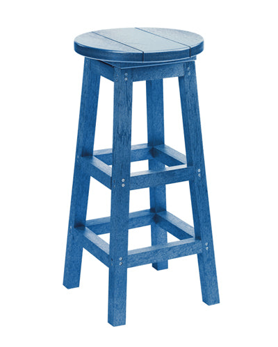 C.R. Plastics' Bar Stool in Blue
