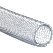 "1.5"" Deluxe Clear Braided PVC Hose"