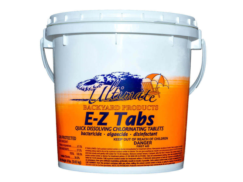 E-Z Tabs Chlorinating Tablets (8lbs)
