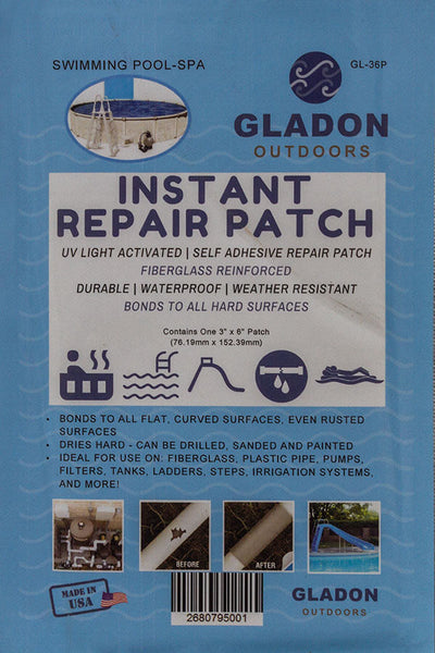 "3"" x 6"" Instant Repair Patch"