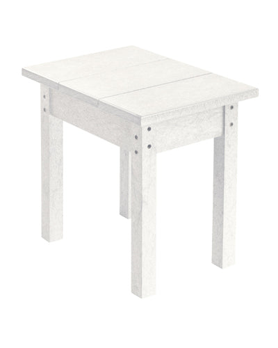 Small Rectangular Table in White
