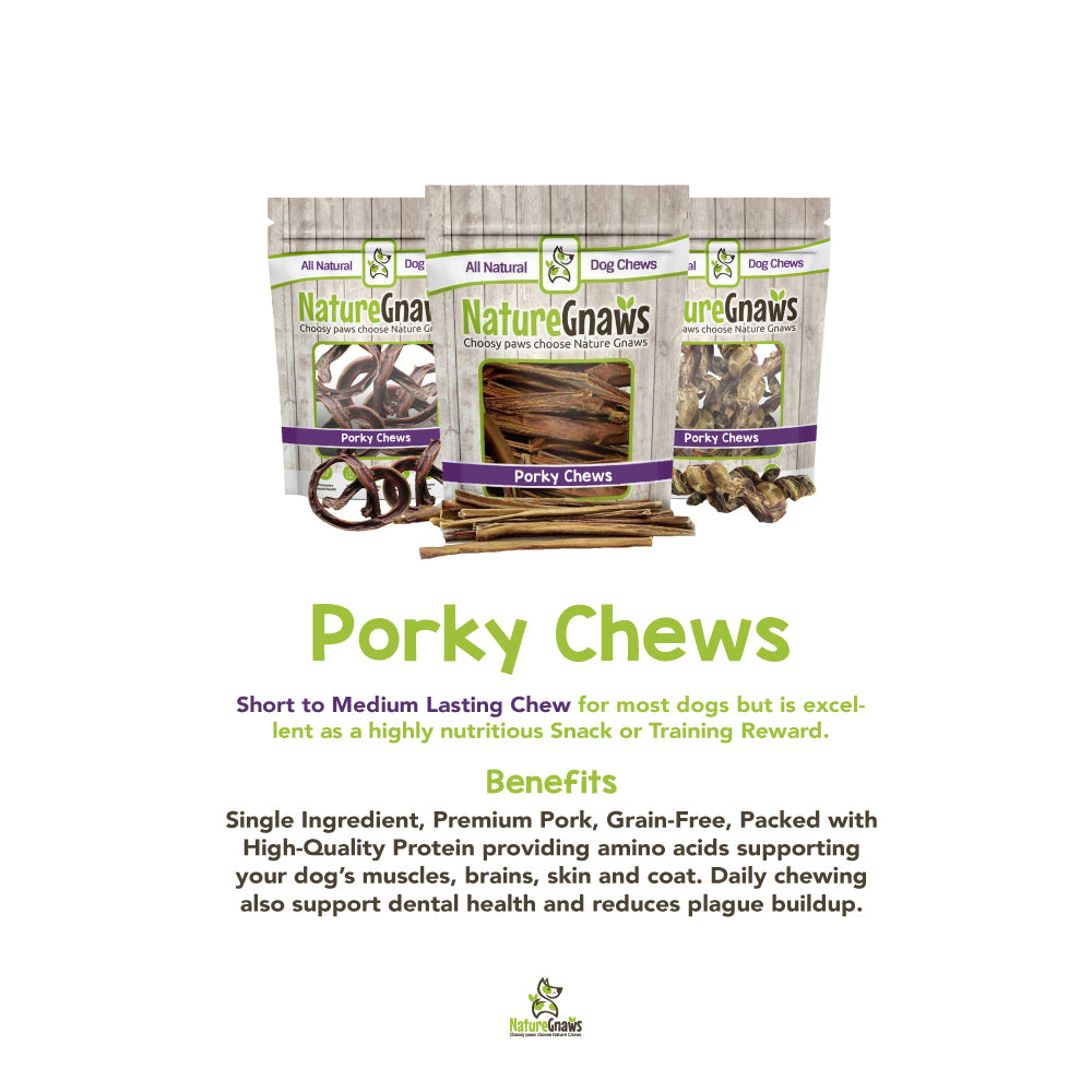 Porky Chews: What They are and Their Benefits
