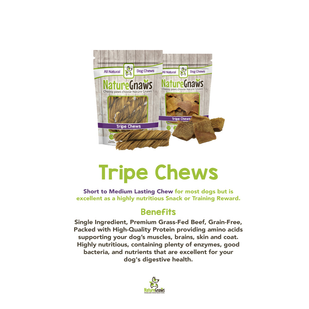 Tripe Chews: What They are and Their Benefits