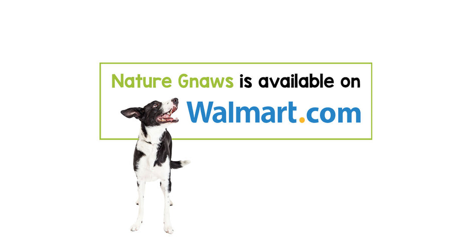 Nature Gnaws is now available on Walmart.com