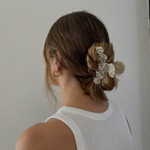 Clouds Hair Clip