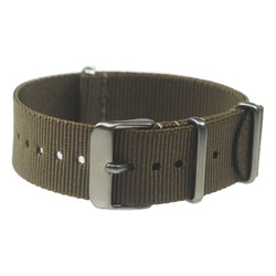NATO band - Olive nylon, Stainless hardware