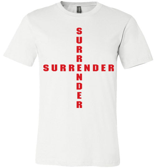 James 4:7, At The Cross, Surrender Unisex T-Shirt, XS-YL