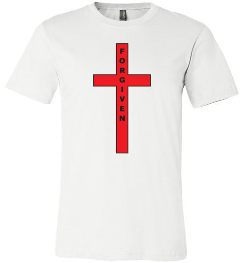 Isiah 53:5, At The Cross, Forgiven Unisex T-Shirt, XS-YL