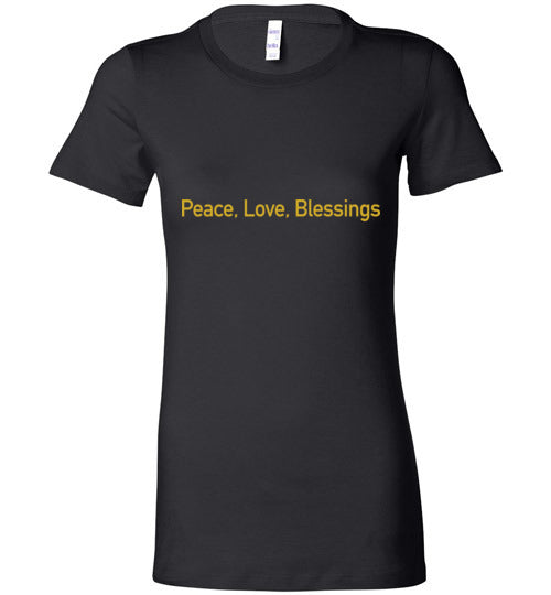 John 14:27, Peace, Ladies Favorite Tee, S-2XL
