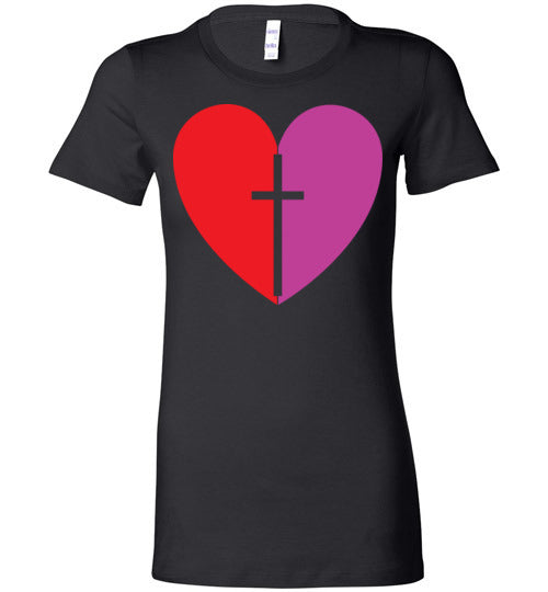 1 Corinthians 16:14, Love, Ladies Favorite Tee, S-2XL