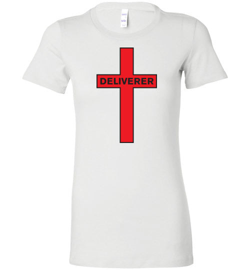 Isiah 53:5, At The Cross, Deliverer Ladies Favorite Tee, S-2XL