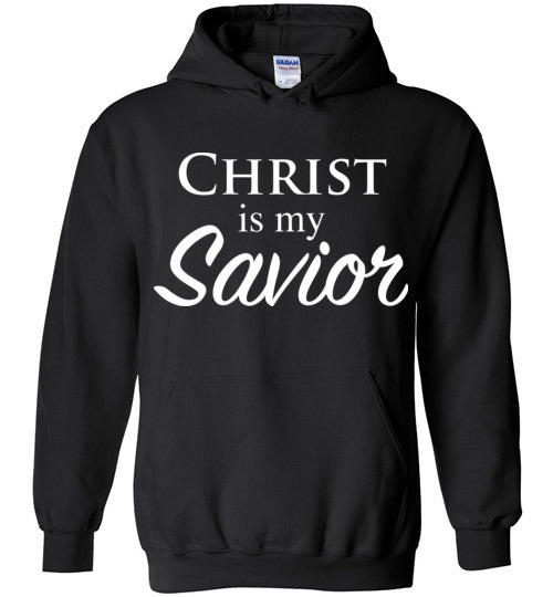 Luke 2:11, Christ is My Savior, Hoodie, S-YXL