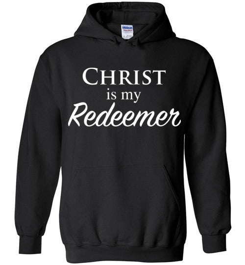 Isiah 47:4, Christ is My Redeemer, Hoodie, S-YXL
