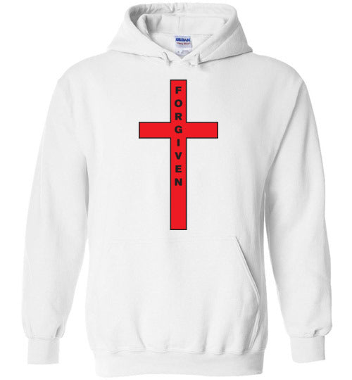 Isiah 53:5, At The Cross, Forgiven Hoodie, S-YXL