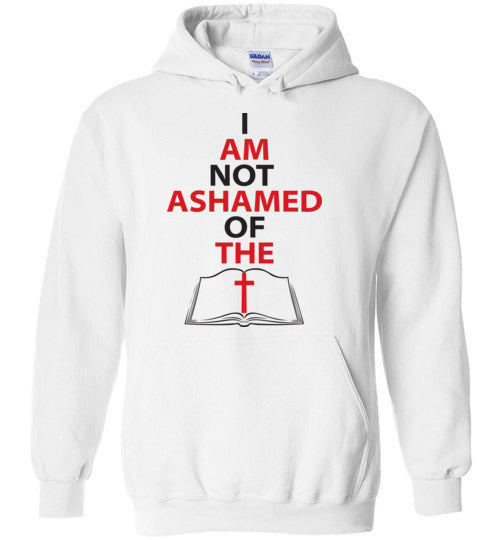 Romans 1:16, At The Cross, Not Ashamed, Hoodie, S-YXL