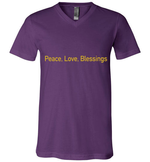 John 14:27, Peace, Unisex V-Neck, T-Shirt, S-3XL