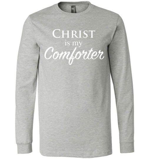 John 14:26, Comforter, Long Sleeve T-Shirt, S-YL