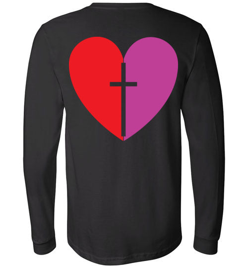 1 Corinthians 16:14, Love, Long Sleeve T-Shirt, S-YL