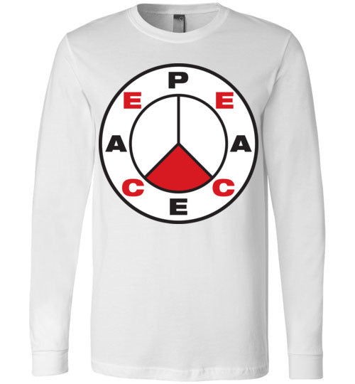 John 14:27, Peace, Long Sleeve T-Shirt, S-YL