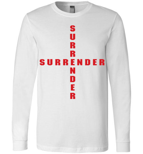 James 4:7, At The Cross, Surrender Long Sleeve T-Shirt, S-YL