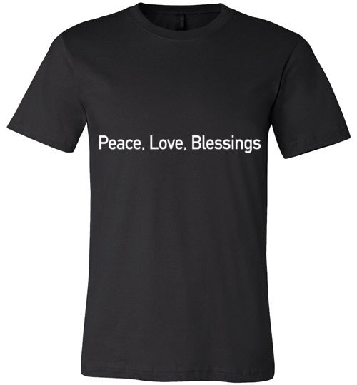 John 14:27, Peace, Unisex T-Shirt - Made in USA, S-3XL