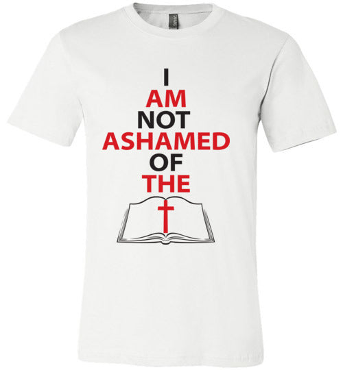 Romans 1:16, At The Cross, Not Ashamed, Unisex T-Shirt - Made in USA, S-3XL
