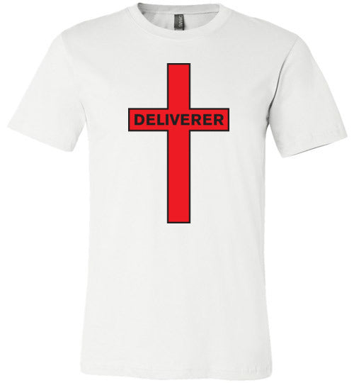 Isiah 53:5, At The Cross, Deliverer Unisex T-Shirt - Made in USA, S-3XL